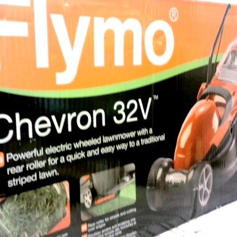 FLYMO CHEVRON 32V LAWNMOWER