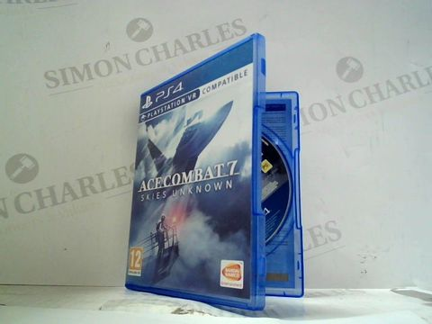ACE COMBAT 7: SKIES UNKNOWN PLAYSTATION 4 GAME