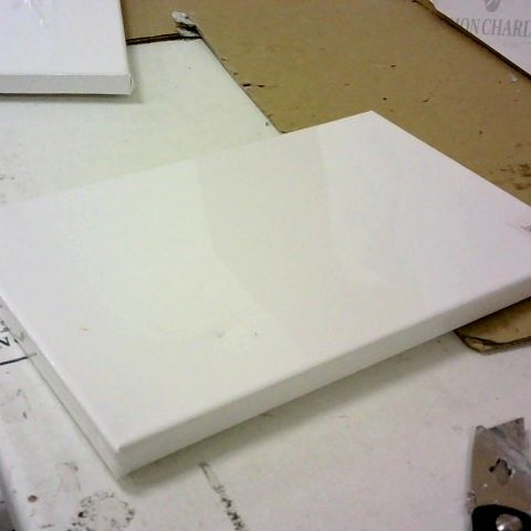 BLANK WHITE CANVAS 20X30CM WRAPPED