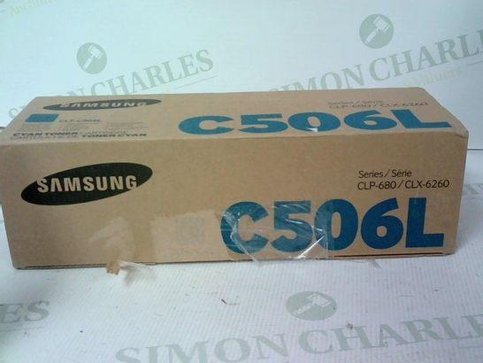 SAMSUNG C506L CYAN TONER CARTRIDGE SERIES CLP-680