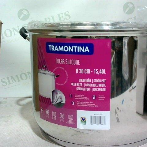 TRAMONTINA 62125/300 SOLAR SILICONE 30 CM STOCK POT