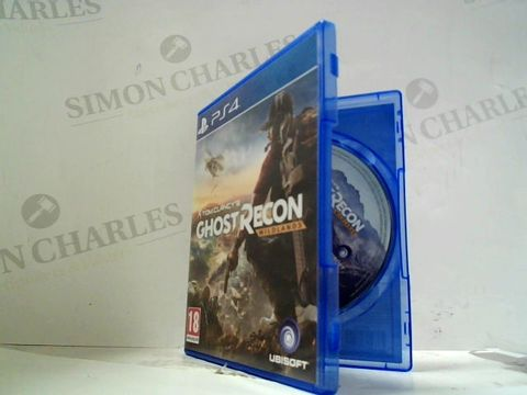 TOM CLANCY'S GHOST RECON: WIDLANDS PLAYSTATION 4 GAME