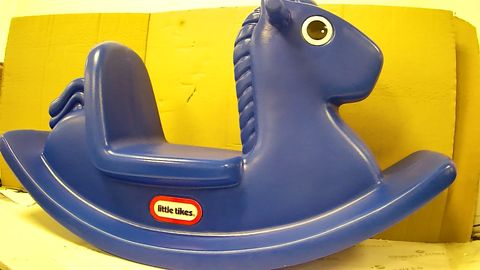 LITTLE TIKES ROCKING HORSE - BLUE