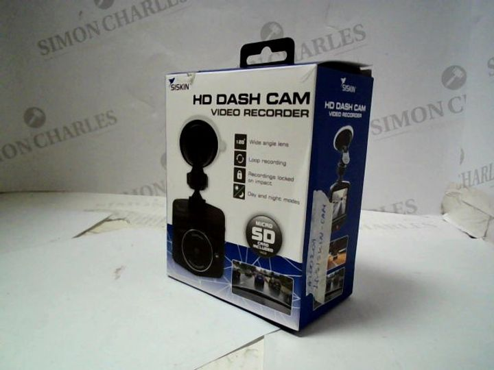 SISKIN HD DASH CAM VIDEO RECORDER