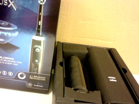 ORAL-B GENIUS X WITH ARTIFICIAL INTELLIGENCE BLACK ELECTRIC TOOTHBRUSH