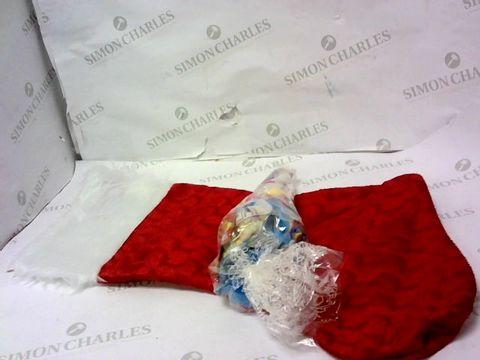 PERSONALISED CHRISTMAS SWEETIE STOCKING  RRP £23.00