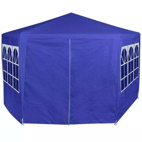 BOXED 6-SIDE 2X2M METAL PATIO GAZEBO (1 BOX)