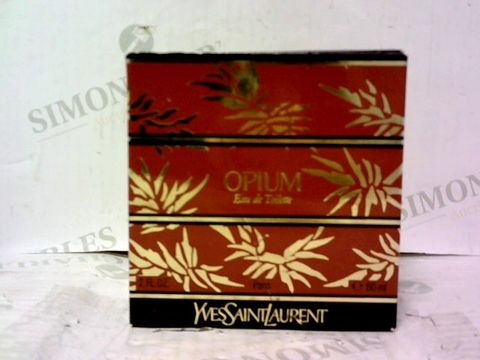 BOXED YVES SAINT LAURENT OPIUM DE TOILETTE 60ML