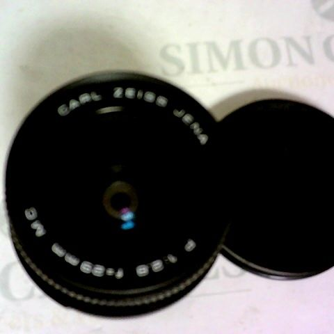 CARL ZEISS JENA MC 29MM 2.8 WIDE ANGLE PRIME LENS FOR M42 FIT WITH CAPS