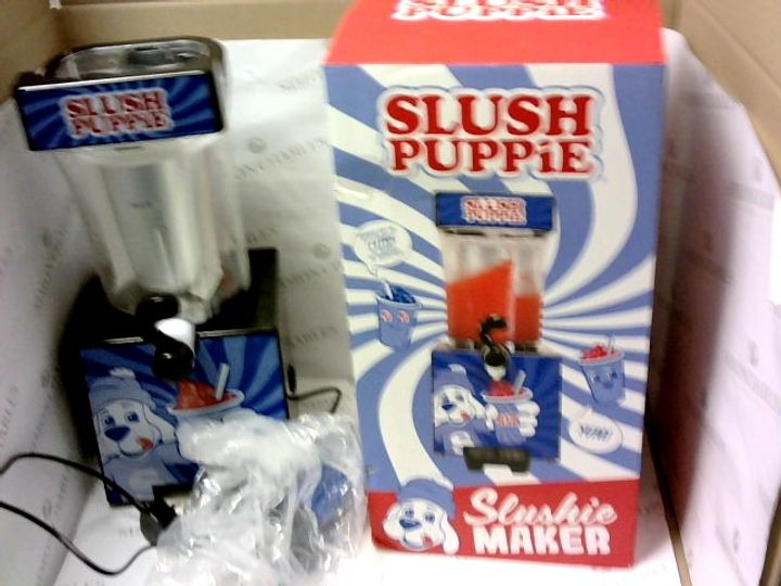 LIMITED EDITION SLUSH PUPPIE SLUSHIE MAKER RRP £94.99