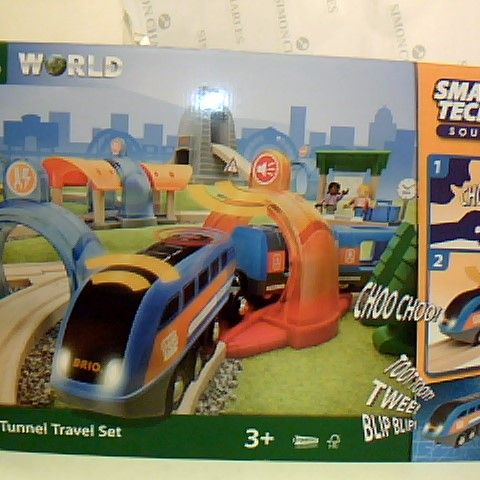 BRIO WORLD SMART TECH SOUND - ACTION TUNNEL TRAVEL SET FOR AGE 3 YEARS AND UP