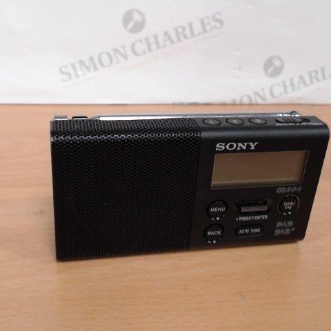 SONY XDR-P1DBP PORTABLE RADIO