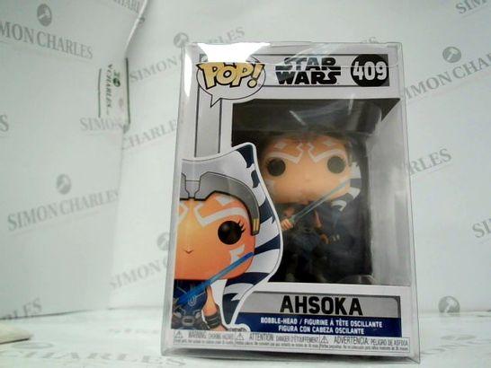 POP STAR WARD 409 AHSOKA FIGURINE
