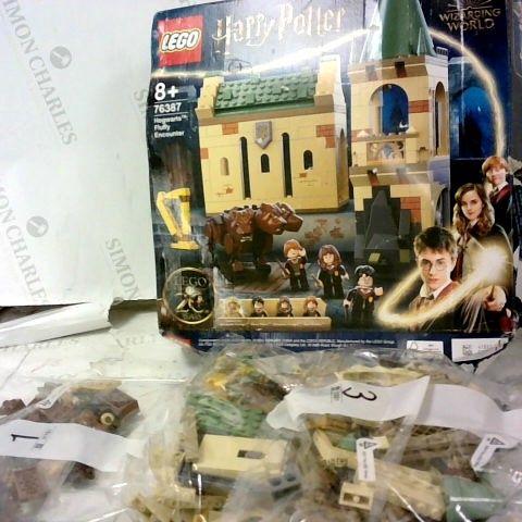 LEGO HARRY POTTER  AGE: 8+