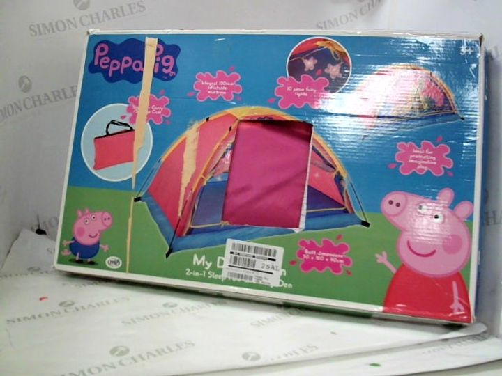 BOXED PEPPA PIG MY DREAM DEN RRP £69.99