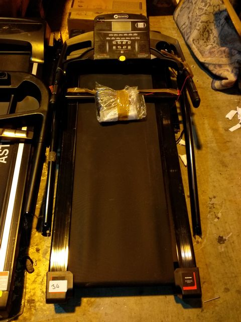 UNBOXED DYNAMIX T300CT MOTORISED TREADMILL