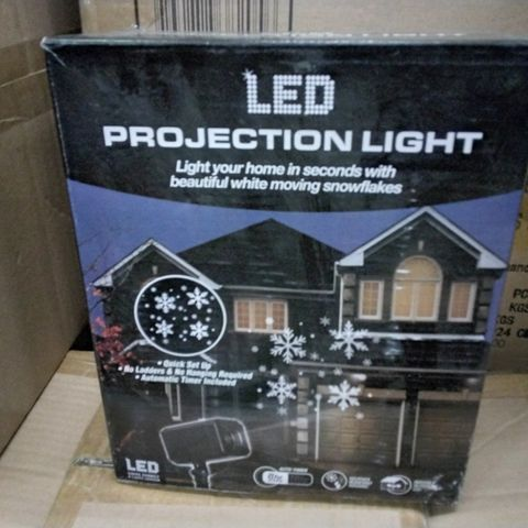 PALLET OF APPROXIMATELY 90 CASES EACH CONTAINING 6 SOLID GLITTER GLASS FRAMES 6 × 4 GOLD & 5 CASES EACH CONTAINING 8 LED PROJECTION LIGHTS + LOOSE STOCK
