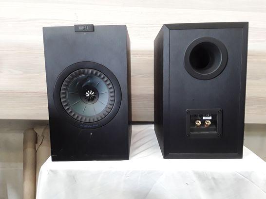 KEF Q350 WIRED BOOKSHELF SPEAKERS - BLACK