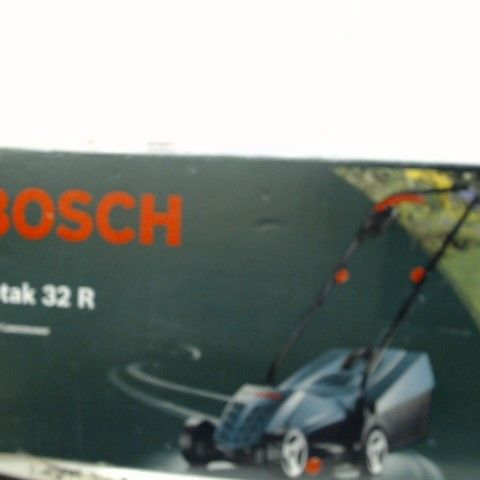 UNBOXED BOSCH ROTAK 32R ELECTRIC ROTARY LAWNMOWER (CORDED)