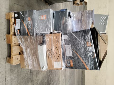 PALLET OF ASSORTED ELECTRICAL ITEMS, INCLUDING, USB CABLES,MSINS CABLES, CHARGERS,LED FLOODLIGHT WITH PIR, MAINS FUSE BOXES.