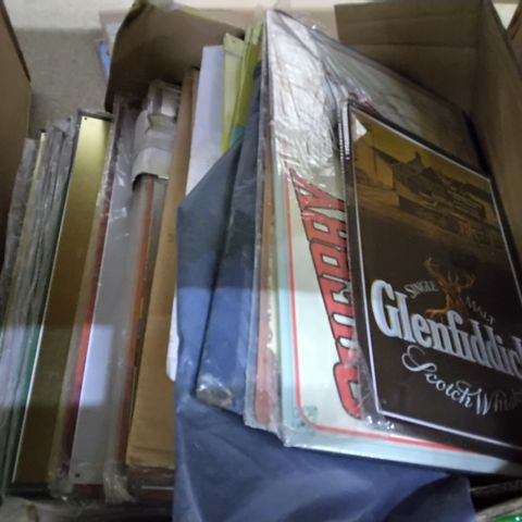 BOX OF APPROXIMATELY 20 ASSORTED CRAFT ITEMS