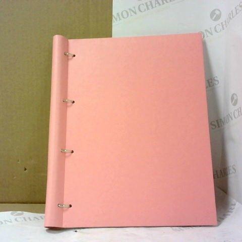 FILOFAX A4 CLIPBOOK ROSE