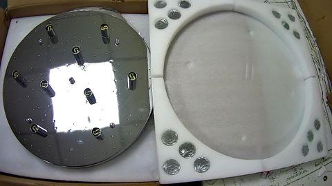 SAINT MOSSI MODERN K9 CRYSTAL RAINDROP CHANDELIER