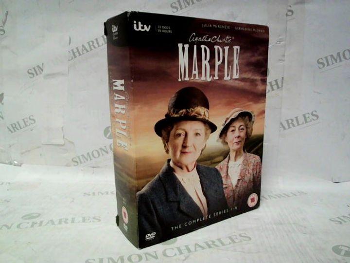AGATHA CHRISTIE'S MARPLE COMPLETE SERIES 1-6 DVD SET