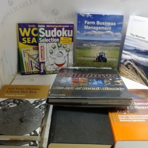 LOT OF APPROXIMATELY 20 ASSORTED NON-FICTION BOOKS, QUIZ BOOKS ETC
