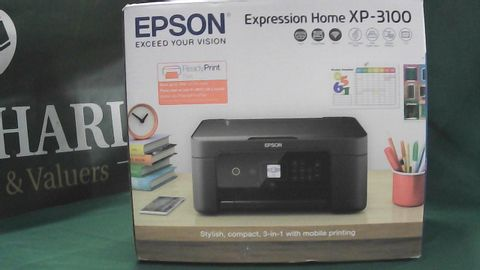 EPSON EXPRESSION HOME XP-3100 PINTER