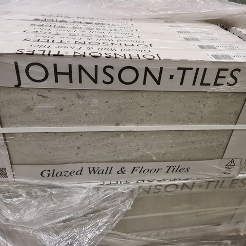 PALLET OF APPROXIMATELY 40 BRAND NEW CARTONS OF 5 CONGLOM CLASSIC GREY MATT TILES - 60X30CM