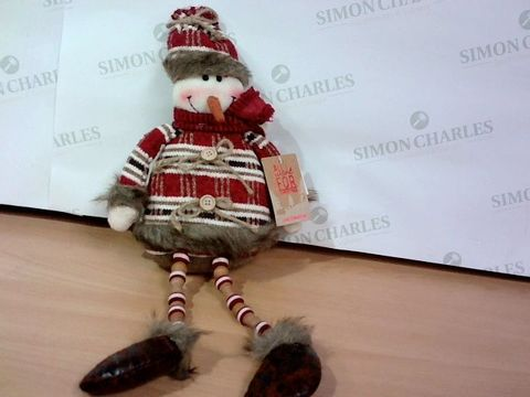 ALL I WANT FOR CHRISTMAS DECORATION - SNOWMAN