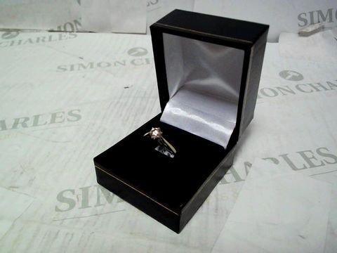 9CT YELLOW GOLD 50 POINT SOLITAIRE RING