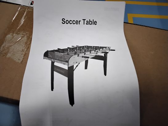 BOXED WINMAX FOLDABLE TABLE SOCCER TABLE