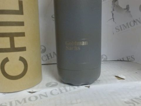 CHILLY'S CHROME WATER BOTTLE