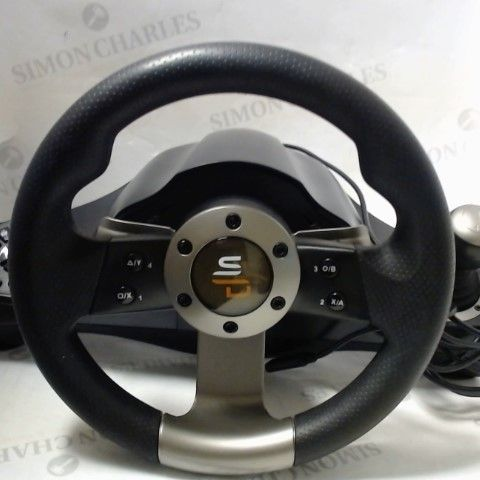 SUBSONIC SUPER DRIVE PRO GS700 STEERING WHEEL