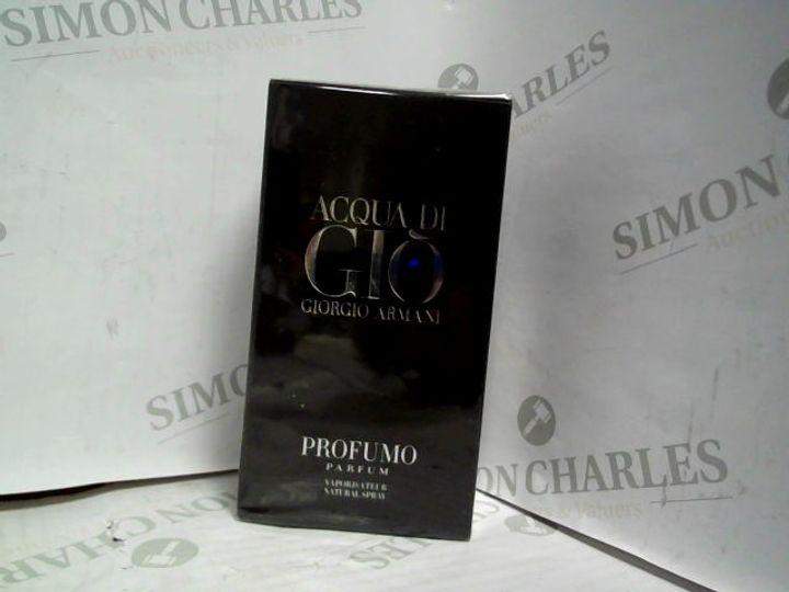 GIORGIO ARMANI ACQUA DI GIO PROFUMO EDP - 125ML - BRAND NEW SEALED