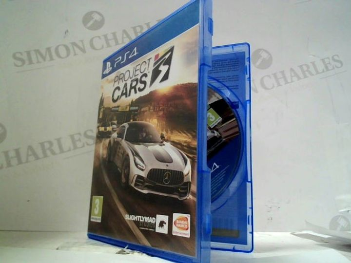PROJECT CARS PLAYSTATION 4 GAME