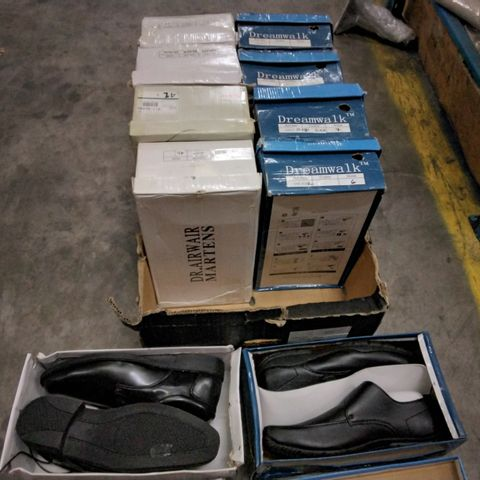 10 PAIRS OF ASSORTED MENS CASUAL SHOES