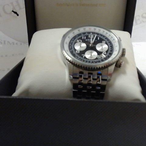 designer gents rotary chronograph style wristwatch