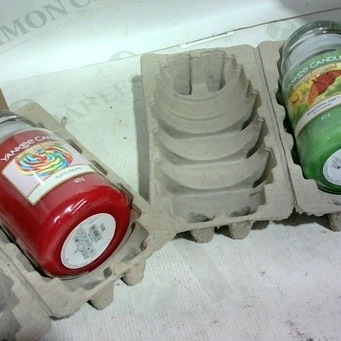 YANKEE CANDLE RETURNING FAVOURITES SET OF 2 LARGE JARS