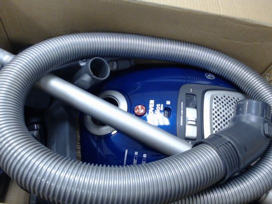 HOOVER TELIOS EXTRA PETS BAGGED CYLINDER VACUUM CLEANER