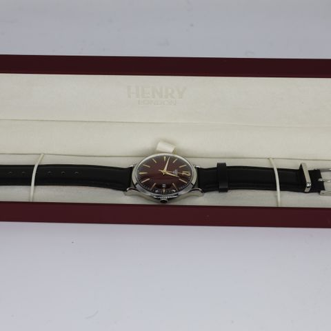 BRAND NEW BOXED HENRY LONDON HL39-S-0095 CHANCERY WATCH