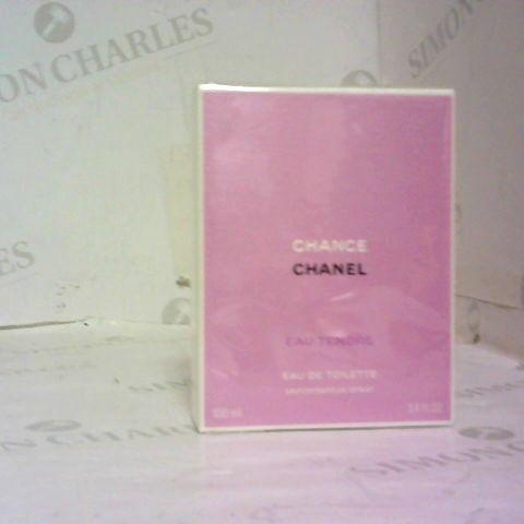 BOXED CHANEL CHANCE EAU DE TOILETTE SPRAY 100ML