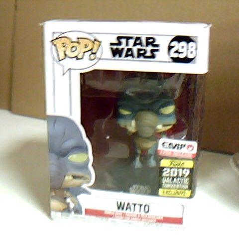 BOXED POP! STAR WARS 298 WATTO