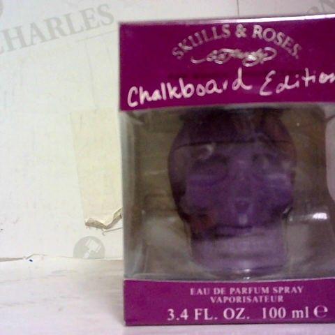 ED HARDY SKULLS AND ROSES FOR WOMEN EDITION CHALKBOARD EDITION EAU DE PARFUM 100 ML