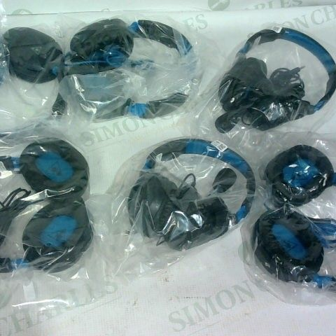 6 X ASSORTED PAIRS OF TURTLE BEACH PLAYSTATION HEADPHONES