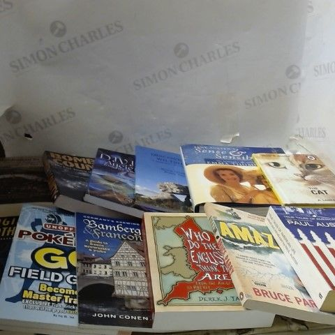 LOT OF APPROXIAMTELY 28 ASSORTED FICTION AND NON-FICTION BOOKS