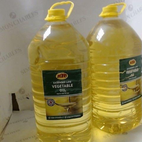2 X 10L VEGETABLE OIL