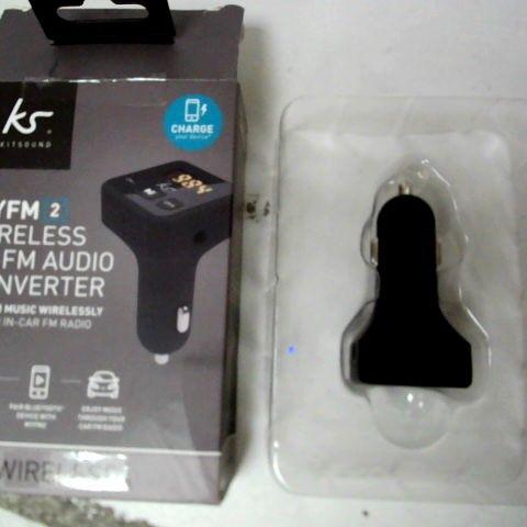 MYFM 2 WIRELESS TO FM AUDIO CONVERTER